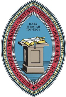 The seal of Westminster Theological Seminary which illustrates the centrality of preaching.